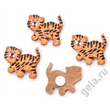 Набор декоративных элементов Тигрята
