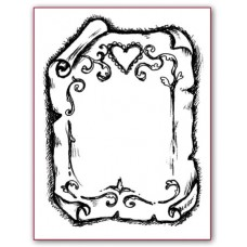 Штапм силиконовый Пергамент