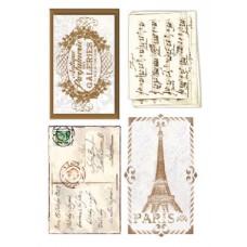 Войлочное полотно с напечатанным рисунком (подложка) Письма
