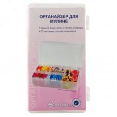 Органайзер для нитей мулине и швейных аксессуаров, 18 х 9 х 4 см
