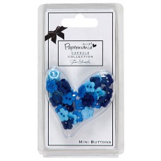 Набор мини-пуговиц Цветы Burleigh Blue