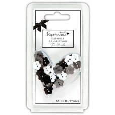 Набор мини-пуговиц Цветы Bexley Black