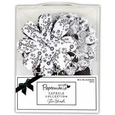 Декоративные элементы Крупные цветы Bexley Black