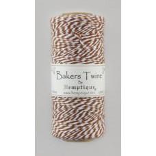 Шнур Bakers Twine  на катушке, 2 х 2 нити, 1мм, 125 м, 50 г
