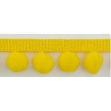 Тесьма с помпонами, диаметр 20 мм, 1 метр
