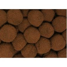 Помпоны - шарики, россыпь, диаметр 20 мм, 100 шт