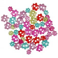 Пуговицы мини Favorite Findings Цветочки