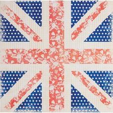 Бумага для скрапбукинга Цветы-Флаг (160gsm) Portobello Road