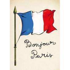 Войлочное полотно с напечатанным рисунком (подложка) Флаг