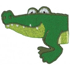 Термоаппликация Половинка Крокодила, 5 штук на блистере