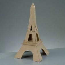 Заготовка из папье-маше Эйфелева башня бумага, 17,5 x 17,5 x 35 см