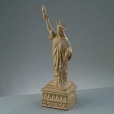 Заготовка из папье-маше Статуя Свободы бумага, 11 x 11 x 38,5 см