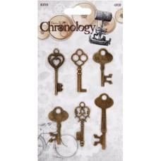 Набор декоративных элементов Ключи Chronology
