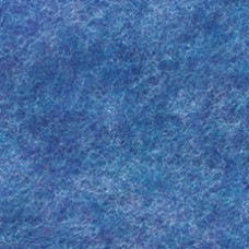 Лист фетра, 100% полиэстр, 30 х 45см х 2 мм /350 г/м ?, голубой крапчатый