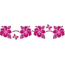 Трафарет Цветок гибискуса