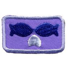 Термоаппликация HKM Целующиеся рыбки, 1 шт