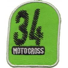 Термоаппликация HKM Мотокрос, 1 шт