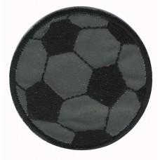 Термоаппликация светоотражающая HKM Футбольный мяч, 1 шт