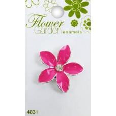 Пуговицы Flower Garden enamels