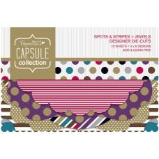 Набор высеченных элементов Spots & Stripes Jewels