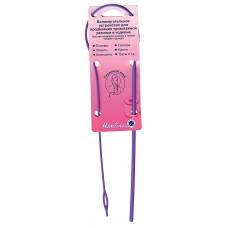 Устройство для продевания резинки в изделие (гнущаяся игла)
