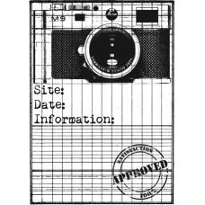 Деревянный штампик для оттисков Фото