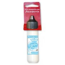 Лак для финишного покрытия «Cristal Drop» с блестками в мини-упаковке