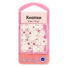 Кнопки пришивные квадратные из пластика