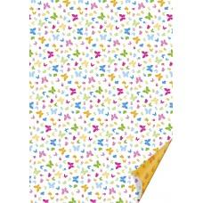 Лист бумаги Бабочки, А4, 220 г