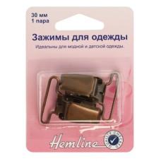 Застежка для комбинезона, 30 мм, 2шт