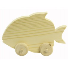 Игрушка Рыбка на колесах