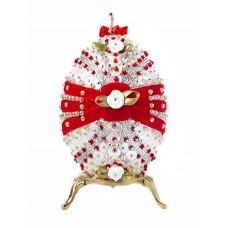Набор для творчества декоративное яйцо Клубника со сливками