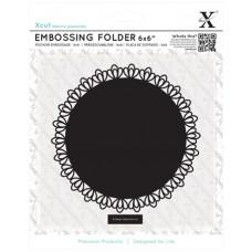 Форма для эмбоссирования Филигранный круг