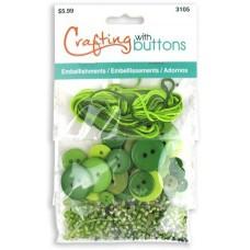 Набор для творчества Embellishments Green