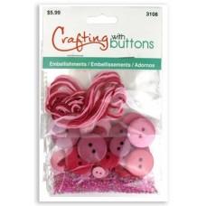 Набор для творчества Embellishments Pink