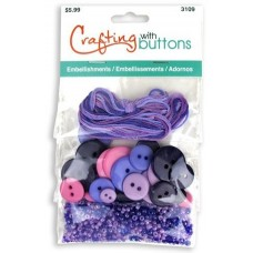 Набор для творчества Embellishments Purple