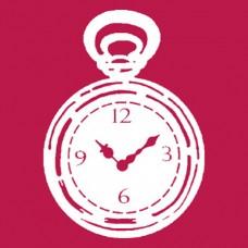 Трафарет-маска Часы, позитив/негатив (двойной)