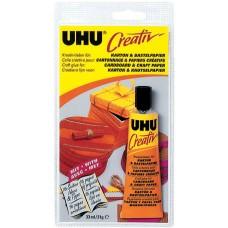 Клей UHU Креатив для картона и бумаги, 33 мл