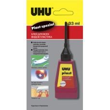 Клей для пластика UHU Plast Spezial с наконечником-иглой, 30 г