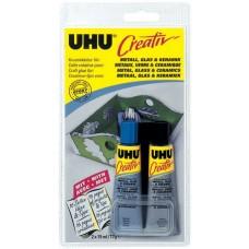 Клей UHU Креатив для металла, стекла и керамики, 15 мл
