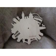 Основа под часы London, 300 x 300 мм