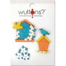Пуговицы Wuttons Birdhouse