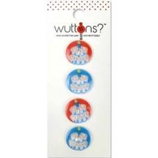 Пуговицы Wuttons Birthday Print Sm