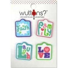 Пуговицы Wuttons Affirmations