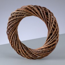 Венок из ивовых прутьев неочищенных, 25 см