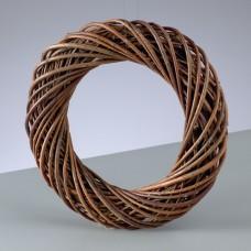 Венок из ивовых прутьев неочищенных, 30 см