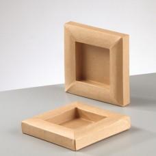 Рамка из картона квадратная