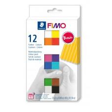 FIMO Soft комплект полимерной глины из 12 блоков по 25г 8023.C12-1