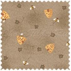 Ткань для пэчворка пчелки