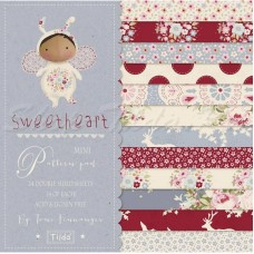 Набор бумаги 15*15 Mini Pattern Pad Sweetheart